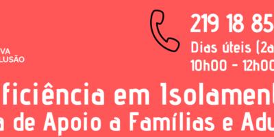 Deficiência em Isolamento: CECD lança linha de apoio para famílias e adultos